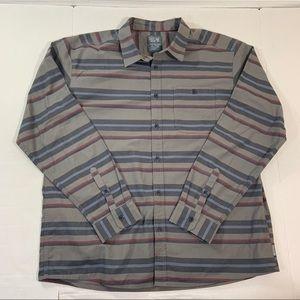 Mountain Hardwear Striped Long Sleeve Shirt XL